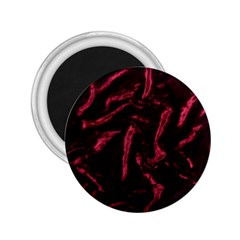 Luxury Claret Design 2 25  Magnets by Costasonlineshop