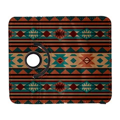 Southwest Design Turquoise And Terracotta Samsung Galaxy S  Iii Flip 360 Case by SouthwestDesigns