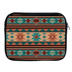 Southwest Design Turquoise And Terracotta Apple Ipad 2/3/4 Zipper Cases by SouthwestDesigns