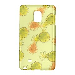 Shabby Floral 1 Galaxy Note Edge by MoreColorsinLife