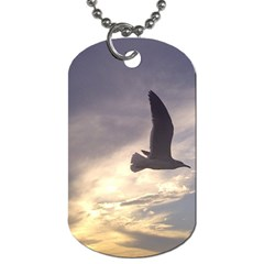 Seagull 1 Dog Tag (one Side) by Jamboo