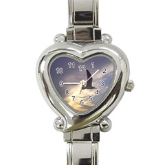 Seagull 1 Heart Italian Charm Watch by Jamboo