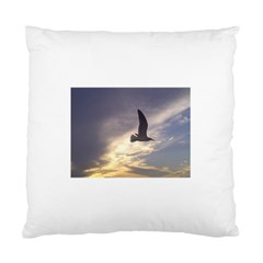 Seagull 1 Standard Cushion Case (one Side)  by Jamboo