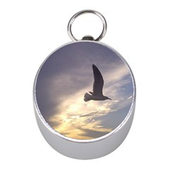 Seagull 1 Mini Silver Compasses by Jamboo