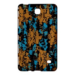 Blue Brown Texture			samsung Galaxy Tab 4 (8 ) Hardshell Case by LalyLauraFLM