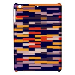 Rectangles In Retro Colors			apple Ipad Mini Hardshell Case by LalyLauraFLM