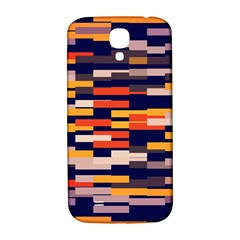 Rectangles In Retro Colors			samsung Galaxy S4 I9500/i9505 Hardshell Back Case