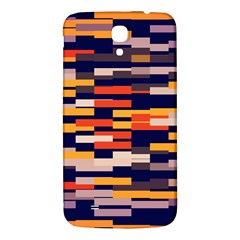 Rectangles In Retro Colors			samsung Galaxy Mega I9200 Hardshell Back Case