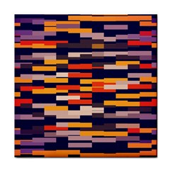 Rectangles In Retro Colors			tile Coaster by LalyLauraFLM