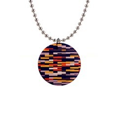 Rectangles In Retro Colors			1  Button Necklace by LalyLauraFLM