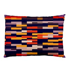 Rectangles In Retro Colors			pillow Case