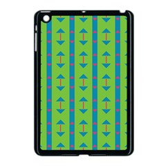 Arrows And Stripes Pattern			apple Ipad Mini Case (black) by LalyLauraFLM