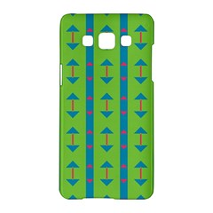 Arrows And Stripes Pattern			samsung Galaxy A5 Hardshell Case