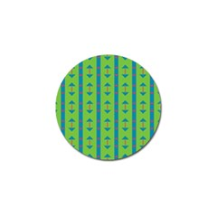 Arrows And Stripes Pattern			golf Ball Marker (4 Pack) by LalyLauraFLM