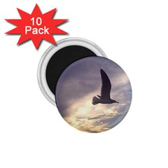 Fly Seagull 1 75  Magnets (10 Pack)  by Jamboo