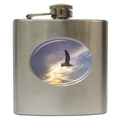 Fly Seagull Hip Flask (6 Oz) by Jamboo