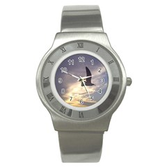 Fly Seagull Stainless Steel Watches by Jamboo