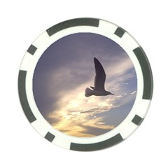 Fly Seagull Poker Chip Card Guards by Jamboo