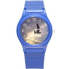 Fly Seagull Round Plastic Sport Watch (s) by Jamboo