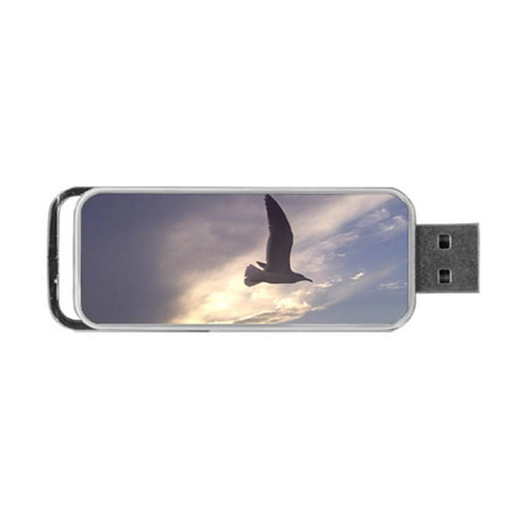 Fly Seagull Portable USB Flash (One Side)