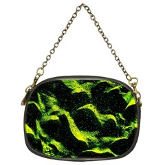 Green Northern Lights Chain Purses (two Sides)  by Costasonlineshop