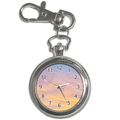 Yellow Blue Pastel Sky Key Chain Watches by Costasonlineshop