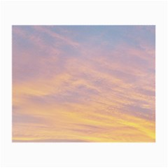 Yellow Blue Pastel Sky Small Glasses Cloth