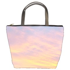 Yellow Blue Pastel Sky Bucket Bags by Costasonlineshop