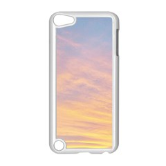 Yellow Blue Pastel Sky Apple Ipod Touch 5 Case (white) by Costasonlineshop