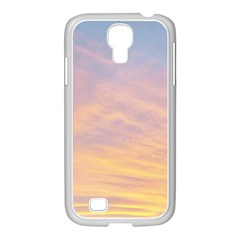 Yellow Blue Pastel Sky Samsung Galaxy S4 I9500/ I9505 Case (white) by Costasonlineshop