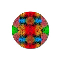 Colorful Goa   Painting Magnet 3  (round) by Costasonlineshop