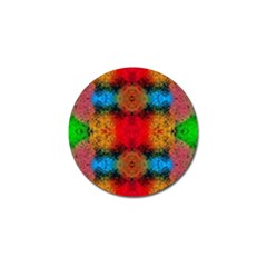 Colorful Goa   Painting Golf Ball Marker (10 Pack) by Costasonlineshop