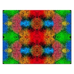 Colorful Goa   Painting Rectangular Jigsaw Puzzl by Costasonlineshop