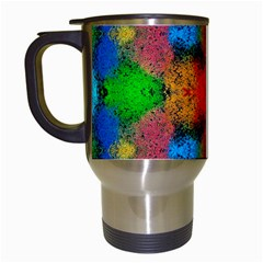 Colorful Goa   Painting Travel Mugs (white) by Costasonlineshop