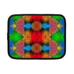 Colorful Goa   Painting Netbook Case (small)  by Costasonlineshop