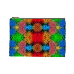 Colorful Goa   Painting Cosmetic Bag (large)  by Costasonlineshop