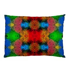 Colorful Goa   Painting Pillow Cases (two Sides) by Costasonlineshop