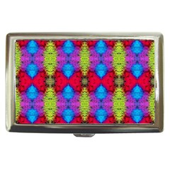 Colorful Painting Goa Pattern Cigarette Money Cases by Costasonlineshop