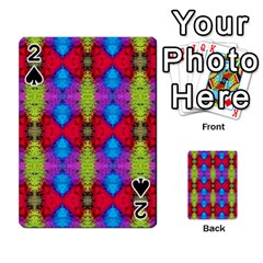 Colorful Painting Goa Pattern Playing Cards 54 Designs  by Costasonlineshop
