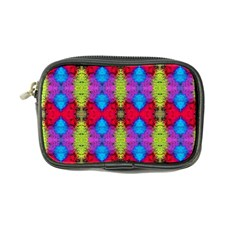 Colorful Painting Goa Pattern Coin Purse by Costasonlineshop