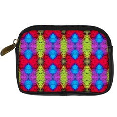 Colorful Painting Goa Pattern Digital Camera Cases by Costasonlineshop