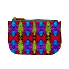 Colorful Painting Goa Pattern Mini Coin Purses by Costasonlineshop