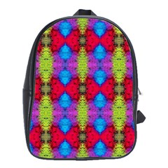 Colorful Painting Goa Pattern School Bags(large)  by Costasonlineshop
