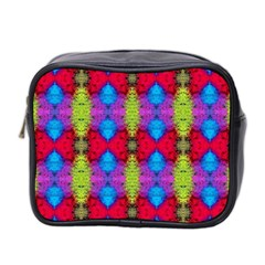 Colorful Painting Goa Pattern Mini Toiletries Bag 2 Side by Costasonlineshop