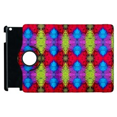 Colorful Painting Goa Pattern Apple Ipad 3/4 Flip 360 Case by Costasonlineshop