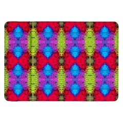 Colorful Painting Goa Pattern Samsung Galaxy Tab 8 9  P7300 Flip Case by Costasonlineshop