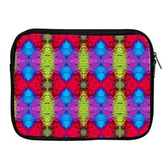 Colorful Painting Goa Pattern Apple Ipad 2/3/4 Zipper Cases by Costasonlineshop