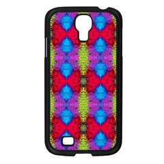 Colorful Painting Goa Pattern Samsung Galaxy S4 I9500/ I9505 Case (black) by Costasonlineshop