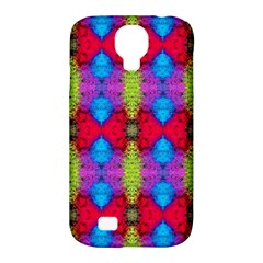 Colorful Painting Goa Pattern Samsung Galaxy S4 Classic Hardshell Case (pc+silicone) by Costasonlineshop