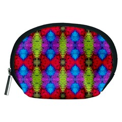 Colorful Painting Goa Pattern Accessory Pouches (medium)  by Costasonlineshop